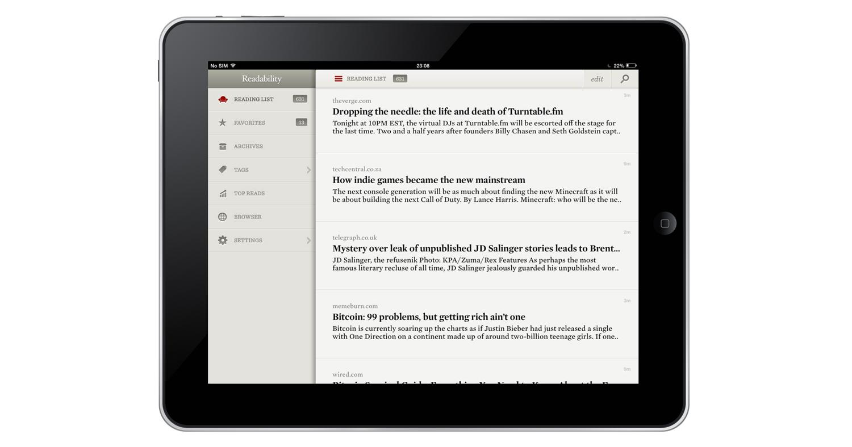 iPad-Readability